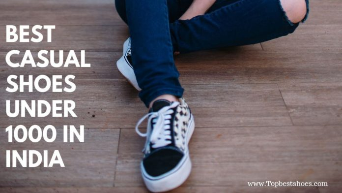 Top 10 Best Casual Shoes Under 1000 In India | 2019